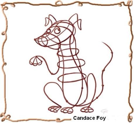 cfoy_wire_dog360framed